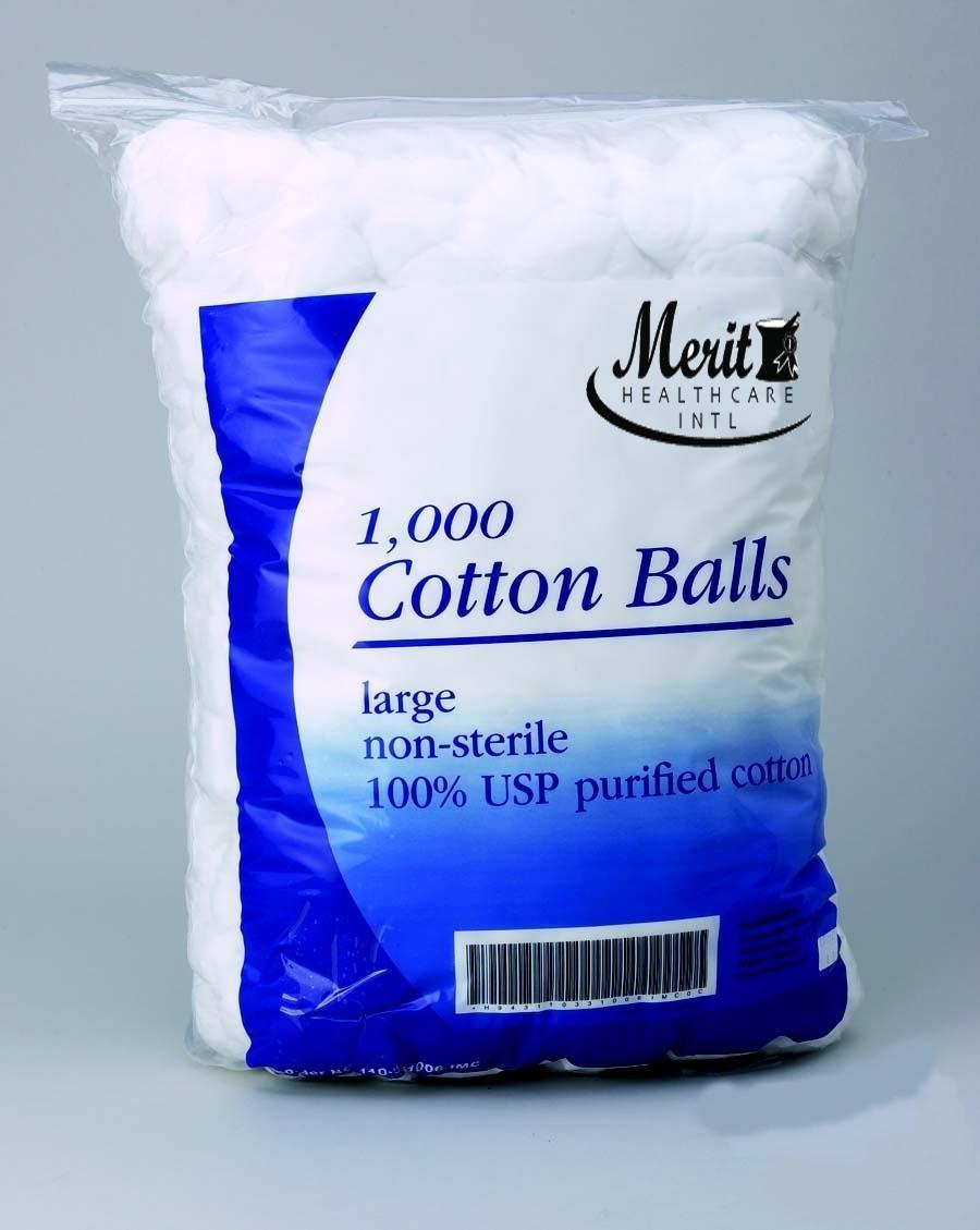 Cotton Ball Medium Cotton NonSterile