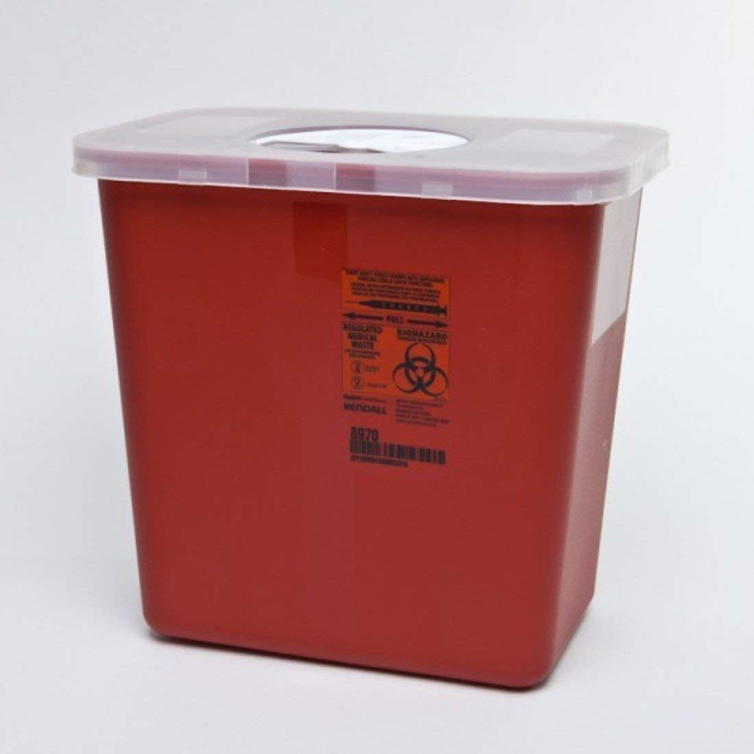 Sharps Container 2 Gallon Red # 4402
