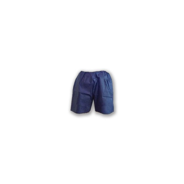 Exam Shorts Blue Adult Disposable One Size Fits Most Sold as 10 Shorts Per Package (5 x 10 Per Case) # 360